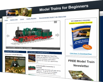 Model Train Blog