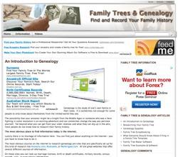 family tree and genealogy