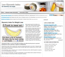 low glycemic index