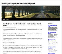 making money with internet marketing