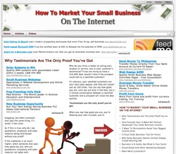 market small business on the internet