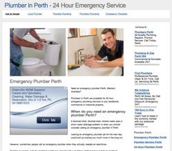 plumber perth