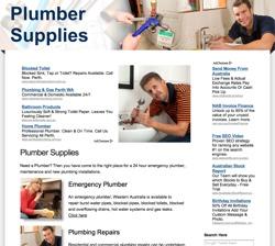 plumber supplies