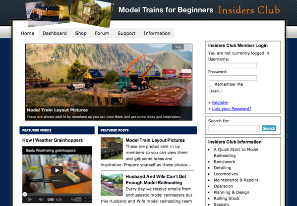 Model Trains For Beginners Insiders Club
