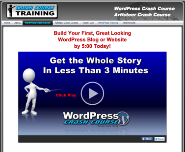 John Piteos Story: My Wordpress Crash Course